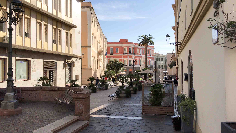 Innenstadt der Hauptinseln La Maddalena