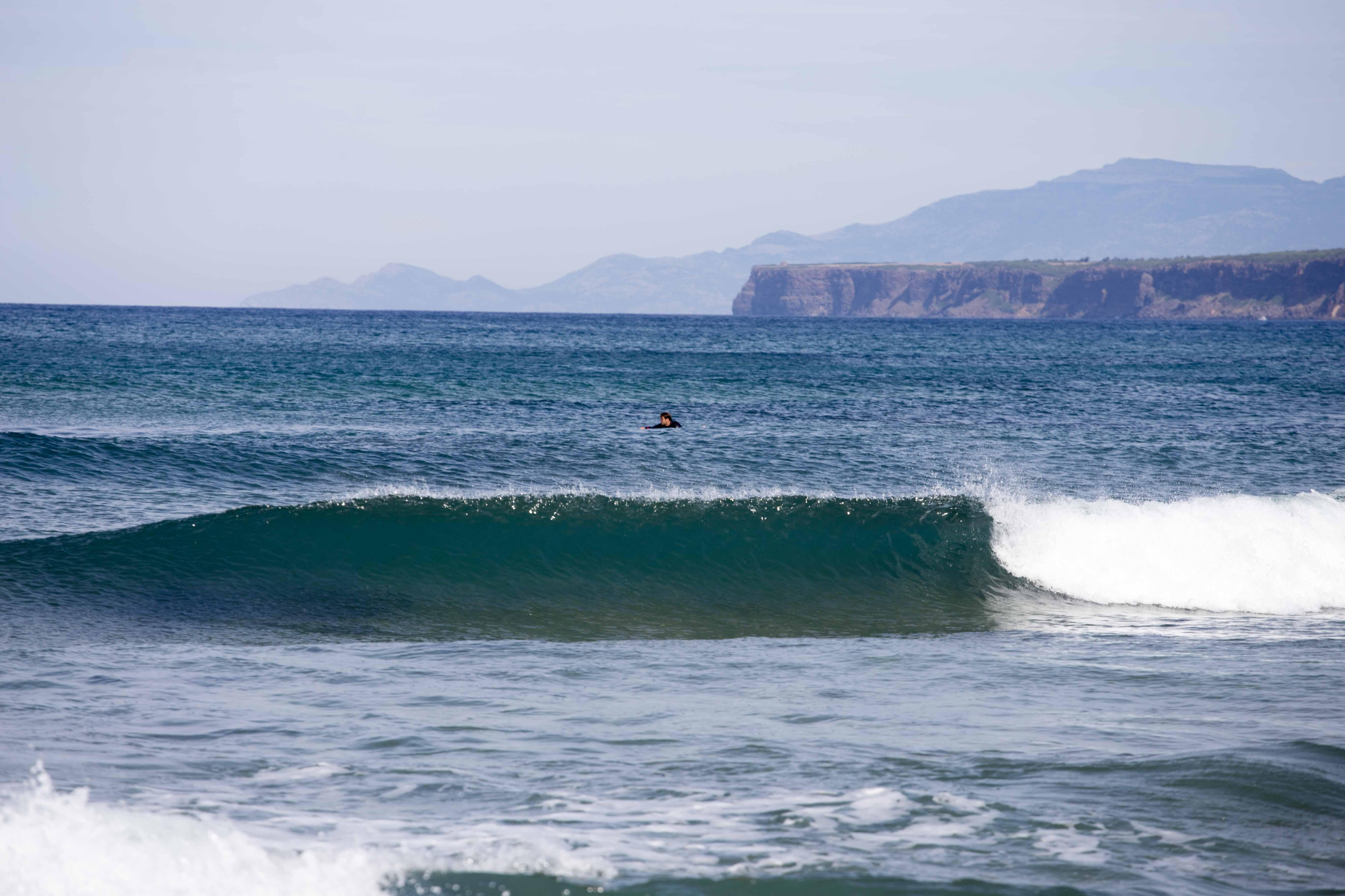 Surfspot S'Archittu perfekt zum Wellenreiten
