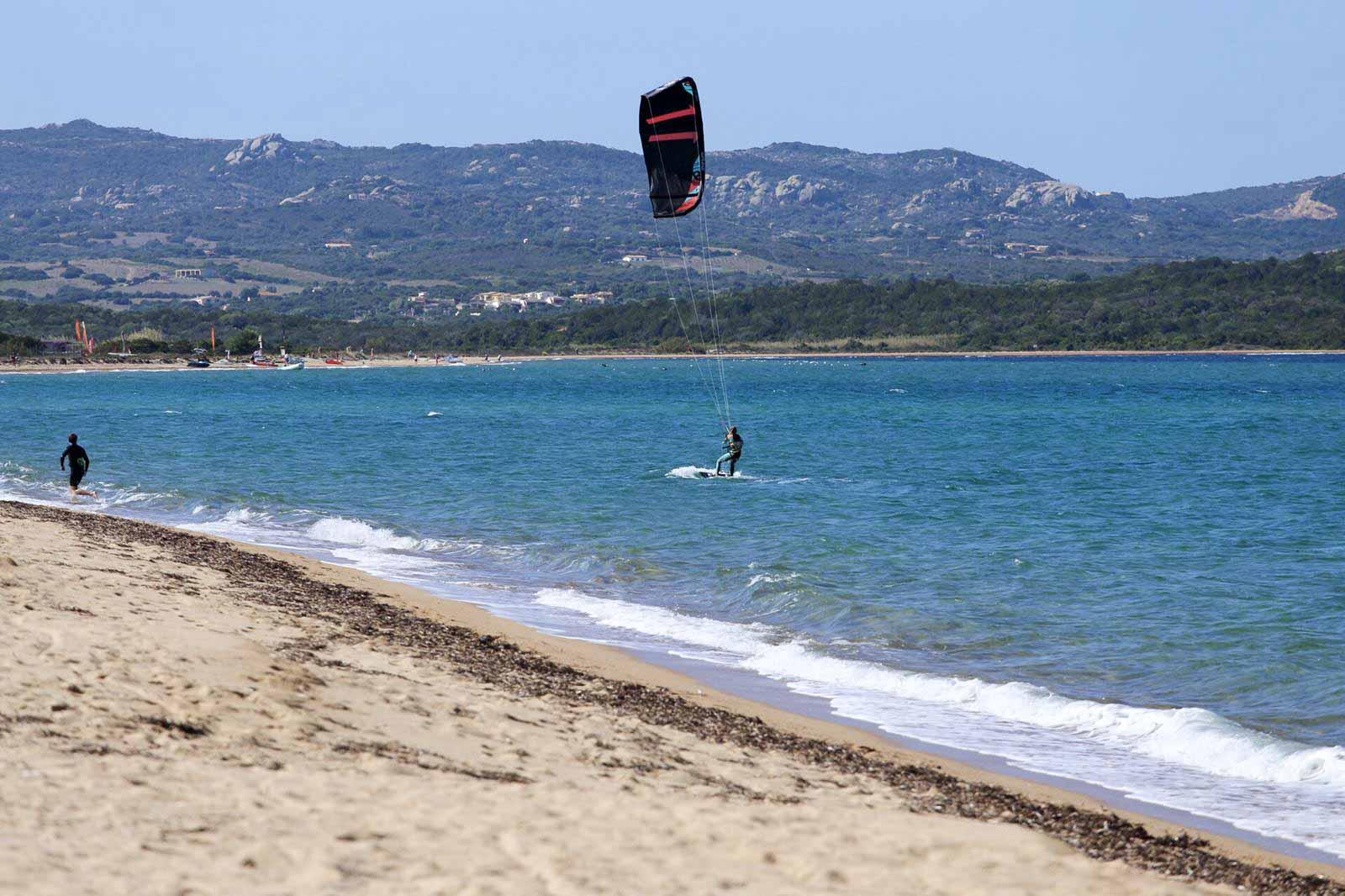Kitespot Porto Pollo - soon schön leer