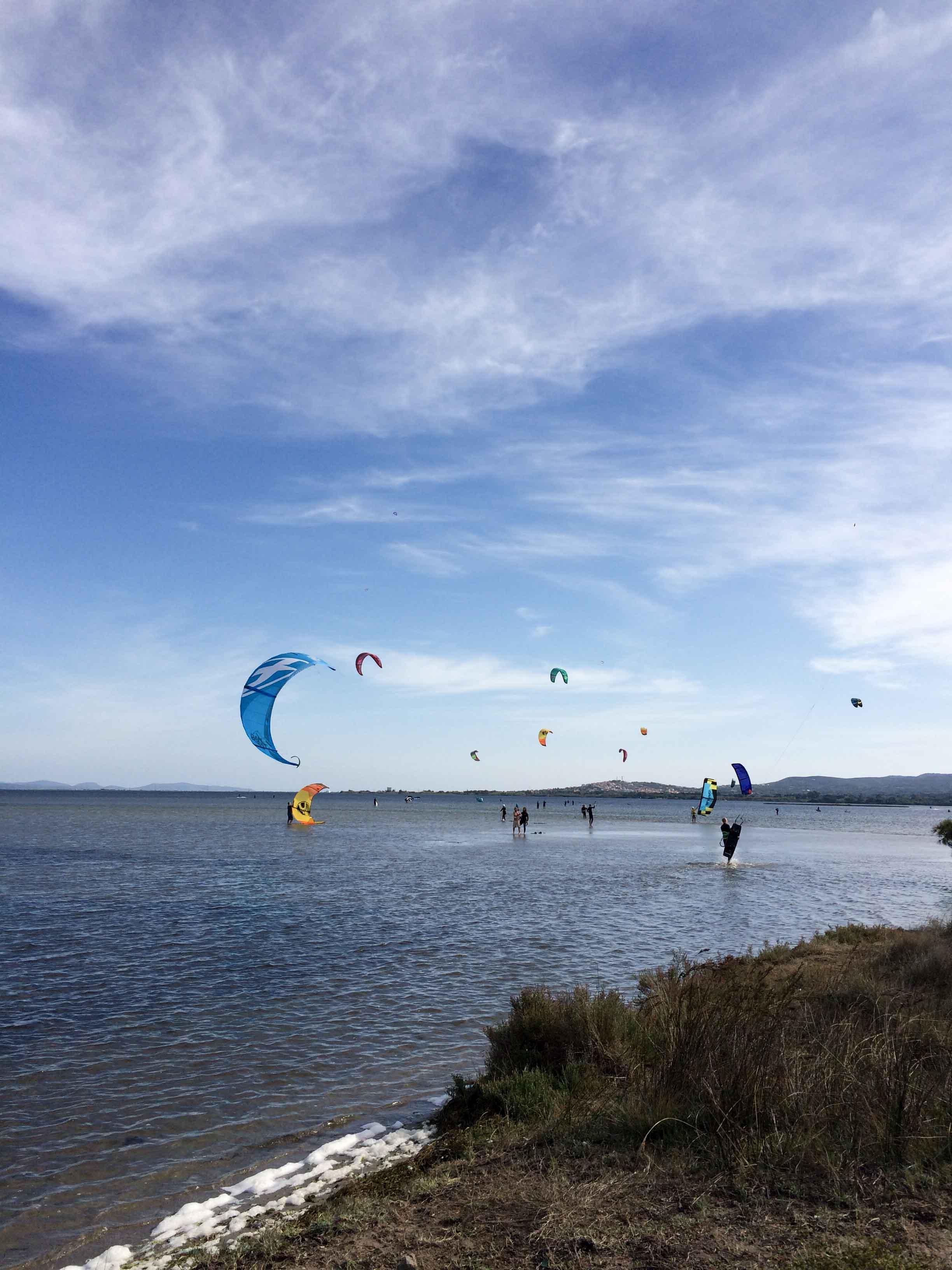 Anfängerseite - Kitespot Punta Trettu