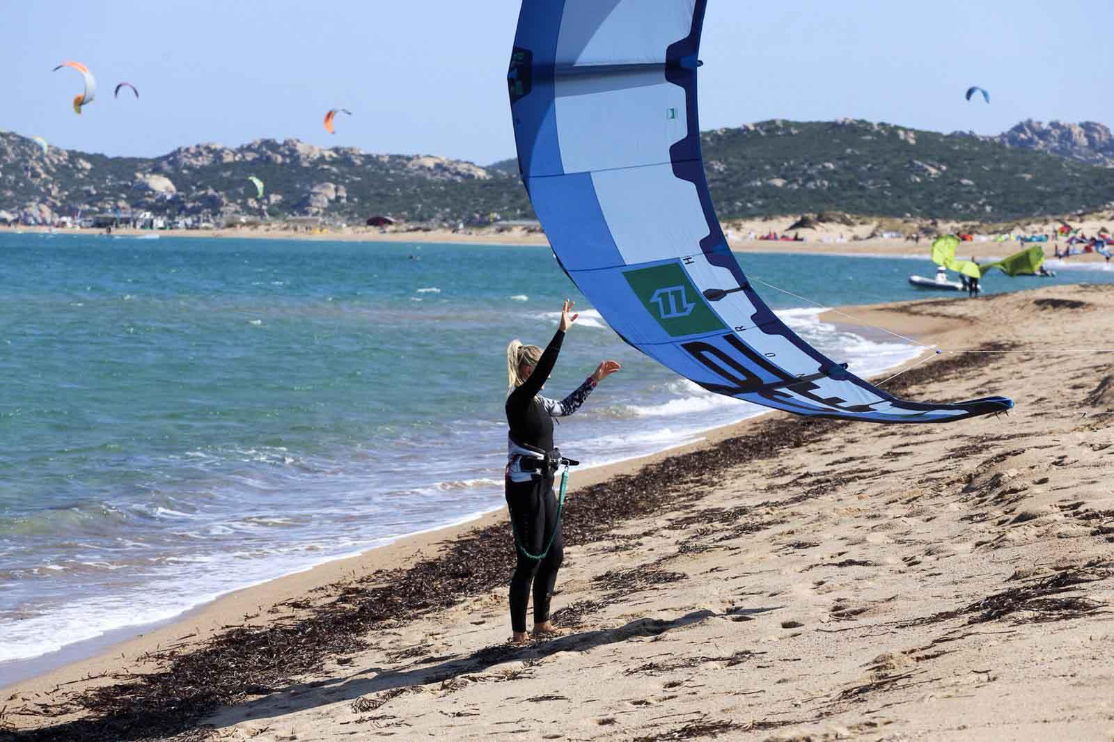 Kitespot Porto Pollo bei Palau