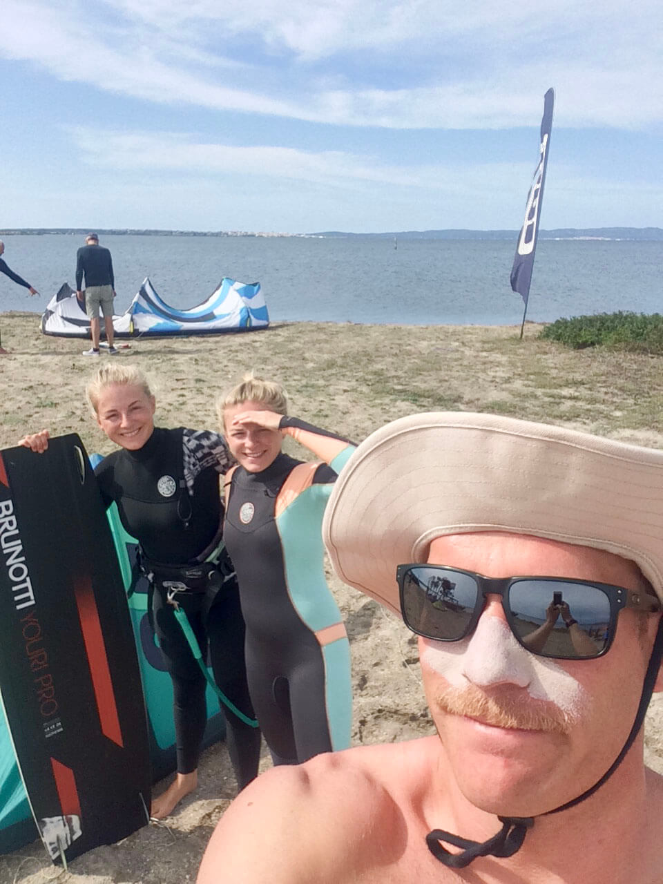 Kitelehrer Christoph - Kitespot Punta Trettu