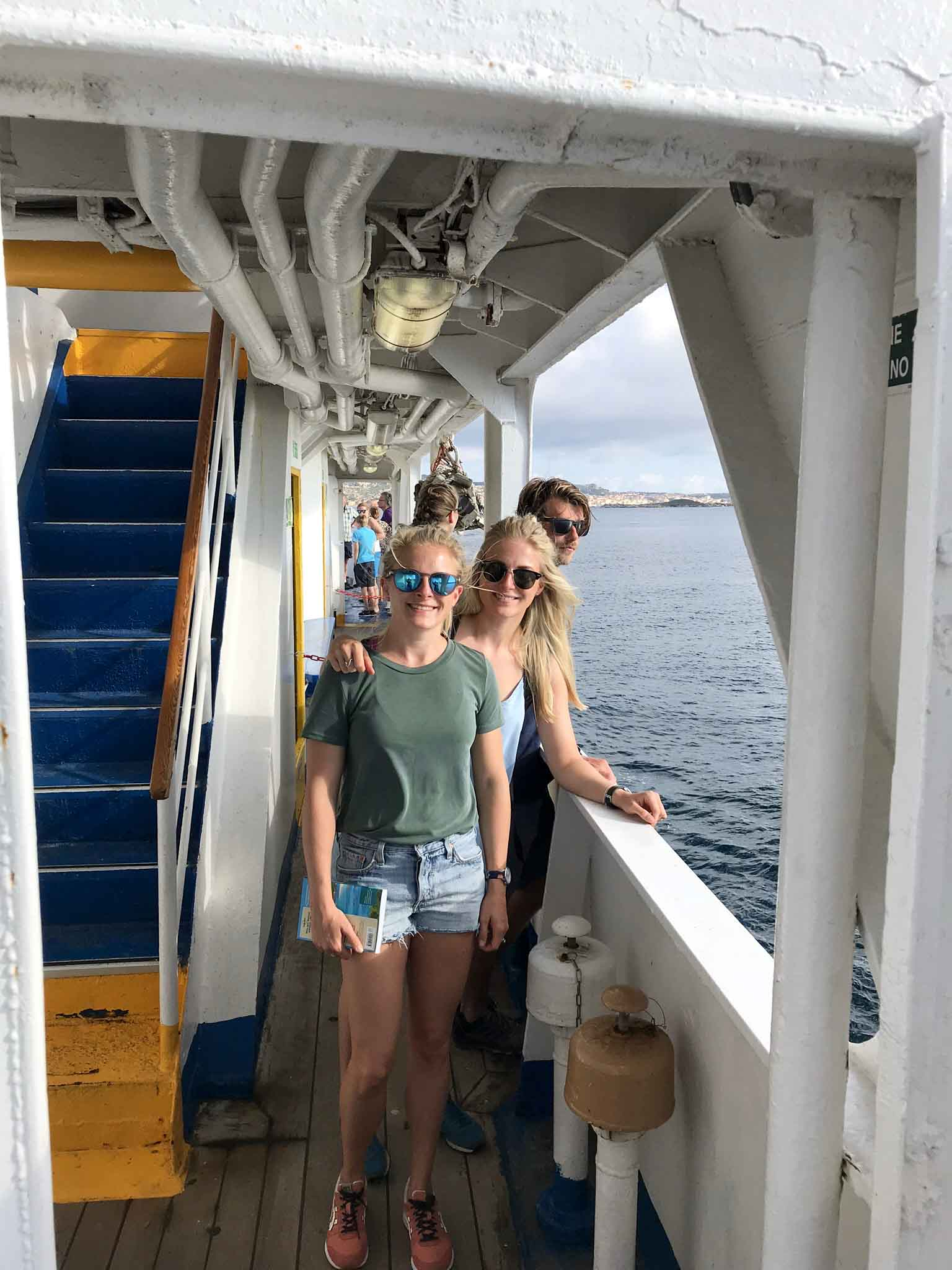 Fähre zu den Inseln La Maddalena