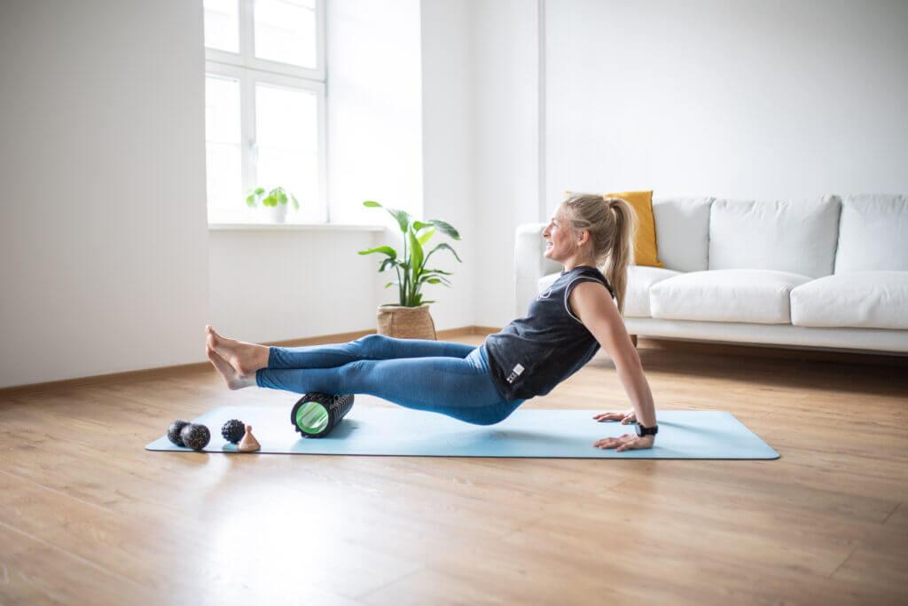 5 Übungen gegen verklebte Faszien