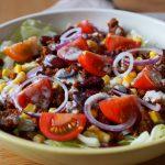 Low Carb Tex Mex Salat