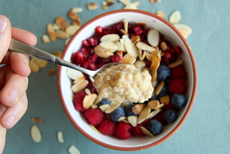 Porridge mit Quinoa