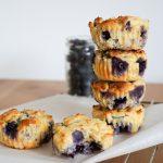 Low Carb Rezept Blaubeermuffins ohne Zucker