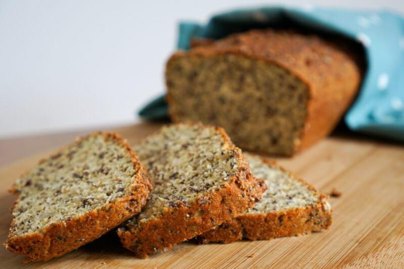 Low Carb Brot mit Quark Rezept