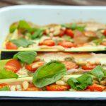 Low Carb gefüllte Zucchini