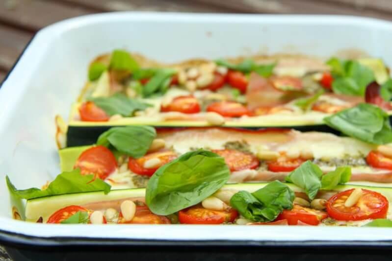 Rezept gefullte zucchini mit fisch