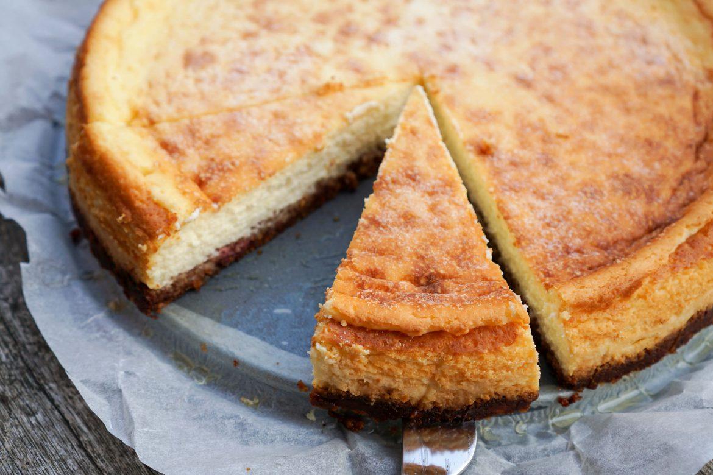 Low Carb Käsekuchen ohne Zucker und Mehl