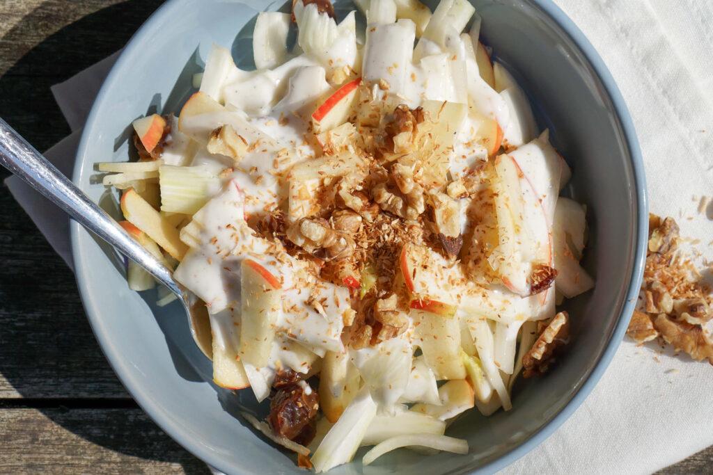 Kohlrabi-Apfel Salat