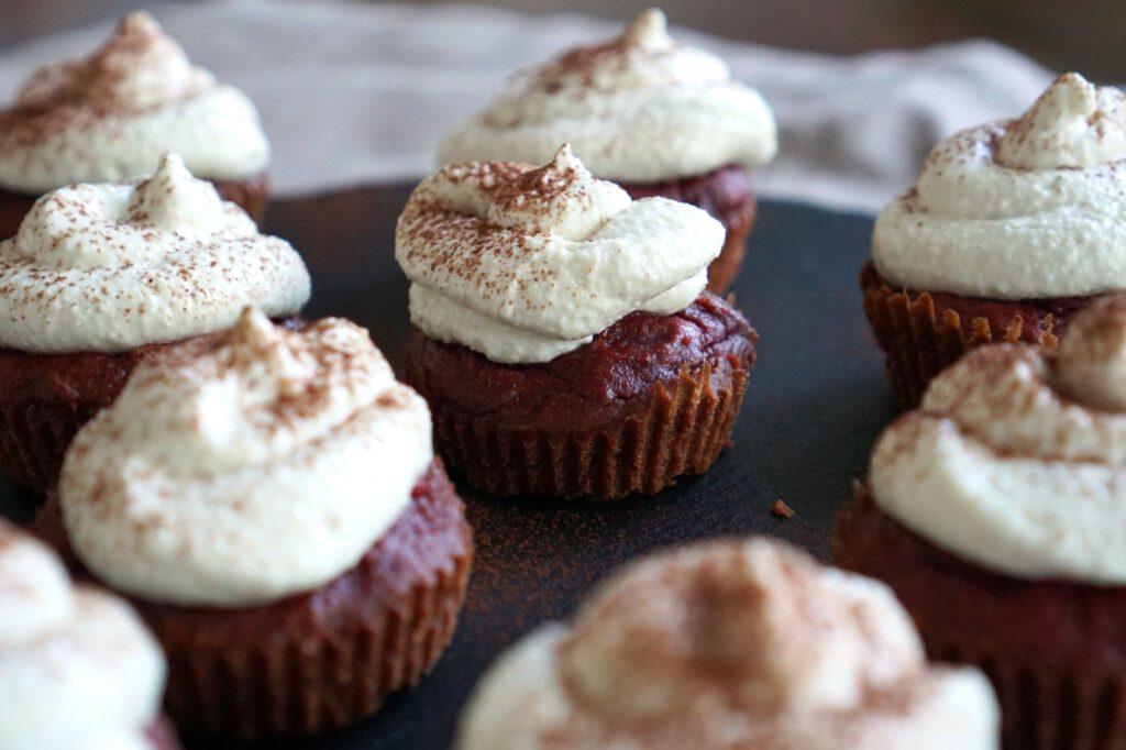 Low Carb Schokoladen Cupcakes